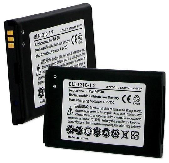 BLI-1310-1 2 : 3 7v 1200mAh rechargeable Li-Ion BATTERY