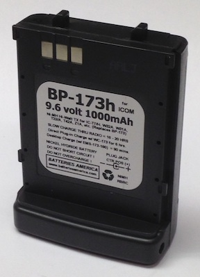 Bp 173h 9 6 Volt 1000mah Rechargeable Nimh Battery For Icom