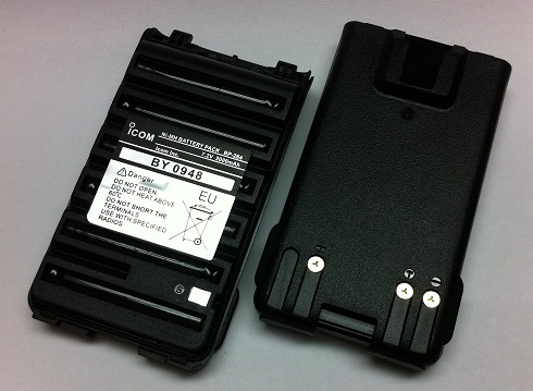 6 x AA BP-263 W CLIP BATTERY CASE supplied for ICOM IC-V80