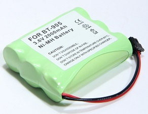 f0e17c42b84007 BT-905: 3.6v 2000mAh NiMH long-life battery for Uniden, Sony, AT&T cordless  phones