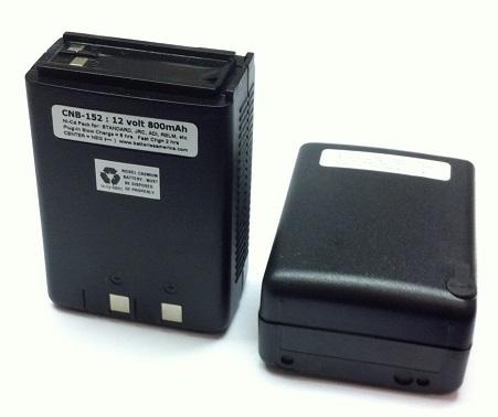 Cnb 152 12v 800 Ni Cd Battery Pack For Standard Adi Jrc