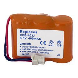 5b5e62bedbc07c CPB-403J : 3.6v 400mAh NiCd battery for V-Tech, AT&T, SW Bell BT-17333