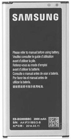 Eb Bg900bbc Samsung 3 85v 2800mah Li Ion Battery For Galaxy S5
