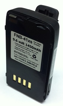 Fnb 41xs 9 6volt 1450mah Long Life Ni Mh Battery Pack For