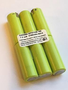 Gpscom 190 7 2 Volt 1700mah Insert For Garmin 190 Battery