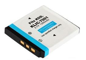 KLIC-7001: 3 7volt 1200mAh Li-ION battery for Kodak, Fuji