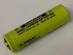 Panasonic AA NiCd Cell Battery with Tabs 700mAh