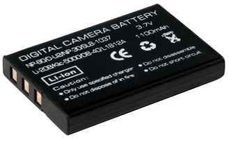 NP-60 : 3 7volt 1100mAh Li-Ion Digital Camera battery  Fits