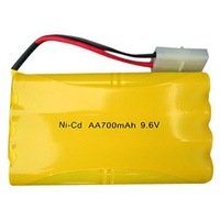 Tyco 700 9 6 Volt 700mah Rechargeable Ni Cd Battery Pack